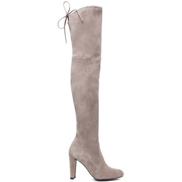 5eb42bdc283 Stuart Weitzman Highland Boot in Topo Suede - 6. M 5b9113bcdcf85541370e5055